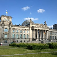 Photo taken at Reichstag by Aleks M. on 7/10/2013