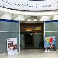 Photo taken at Teatro Silvio Romero by Alexandre C. on 2/2/2013