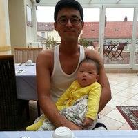 Photo taken at Hotel Villa Verde by Eunah C. on 8/7/2013