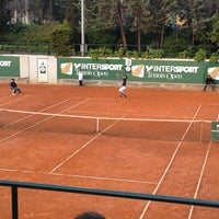 Photo taken at Filothei Tennis Club by Manos V. on 3/17/2013