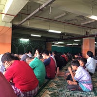 Photo taken at Masjid Attaqwa Menara BCA Grand Indonesia by Hiro A. on 12/26/2014