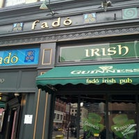 Photo taken at Fadó Irish Pub & Restaurant by David S. on 3/16/2013
