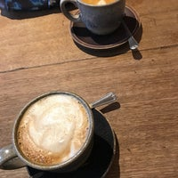Photo taken at BEANd Coffee Roastery by Meg K. on 12/1/2017
