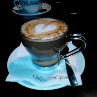Photo taken at Cafe & Factory by Marija Z. on 1/22/2013