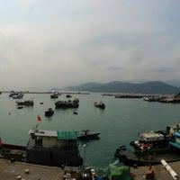 Photo taken at Cheung Chau by Michael Z. on 3/23/2013