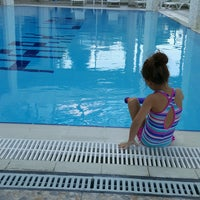 Photo taken at Park Lima Swimming Pool by Gizem T. on 8/2/2016