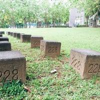Photo taken at Chiayi 228 Memorial Park by Sean Y. on 6/10/2016