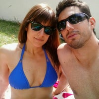 Photo taken at piscina chasa I by Mercedes F. on 6/19/2014