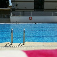 Photo taken at piscina chasa I by Mercedes F. on 8/3/2016
