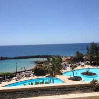 Photo taken at Be Live Grand Teguise Playa by Laura M. on 3/30/2013