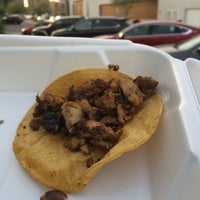 Photo taken at Wadaa Street Tacos by Michael N. on 2/22/2015