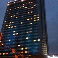 Photo taken at Radisson Blu Latvija Conference & SPA Hotel by L M. on 1/3/2013