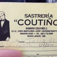 Photo taken at Sastreria Coutiño by Antonio U. on 7/21/2014