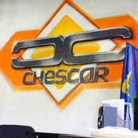 Photo taken at CHESCAR by Константин М. on 4/5/2014