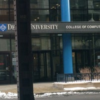 Photo taken at DePaul University - College of Computing and Digital Media by Yuliya Y. on 2/6/2013