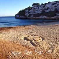 Photo taken at Cala Romantica by DoSchu S. on 1/1/2017