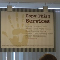 Photo taken at Copy This Service by Tonya H. on 3/14/2013