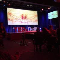 Photo taken at TEDxDelft by Wouter B. on 4/15/2016