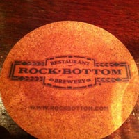 Photo taken at Rock Bottom Restaurant & Brewery by Pete C. on 5/26/2013