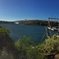 Photo taken at The Dalles Dam by Jeremiah L. on 7/5/2016