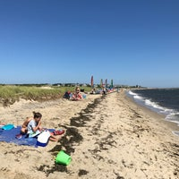Photo taken at Ridgevale Beach by Joseph S. on 7/9/2017
