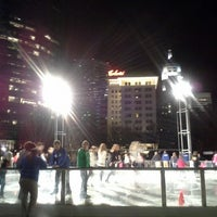 Photo taken at Devon Energy Ice Rink by Steve L. on 1/12/2013