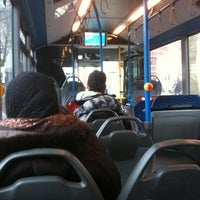 Photo taken at Bus 22 richting Houthavens by Bram v. on 3/7/2013