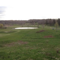 Photo taken at Alling Mem Golf Course by Aaron P. on 4/24/2013