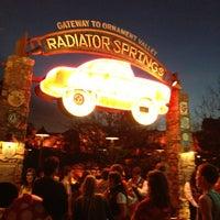 Photo taken at Radiator Springs Racers by Tim M. on 2/16/2013
