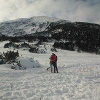 Photo taken at вр. Безбог, 2645м / Bezbog peak, 8677ft by desislava m. on 1/2/2014