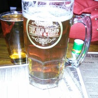 Photo taken at The Old Wagon Saloon & Grill by Rene P. on 1/18/2013