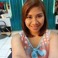Photo taken at Ricky Reyes Hair Salon by diane h. on 11/24/2013