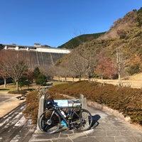 Photo taken at 松田川ダム by Kazu h. on 11/27/2017