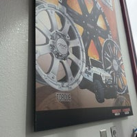 Photo taken at Discount Tire by Morrello Y. on 3/16/2013