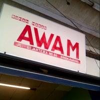 Photo taken at Rumah Makan Awam by Ananda H. on 1/6/2013