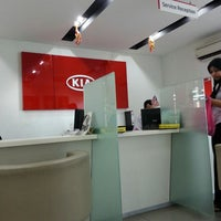 Photo taken at Naza KIA Services Sdn. Bhd. by Hada L. on 2/19/2014