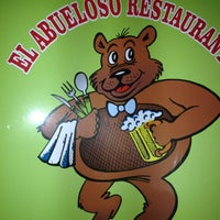 Photo taken at El Abueloso Restaurant by Sandy M. on 4/4/2013