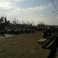 Photo taken at TPI Juawana (Tempat Pelelangan Ikan) by Annisa L. on 2/7/2013