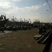 Photo taken at TPI Juawana (Tempat Pelelangan Ikan) by Annisa L. on 1/23/2013
