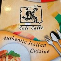 Photo taken at Café Caffè by Joyce B. on 1/14/2013