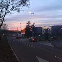 Photo taken at Parking Sava centra by Aleksandar P. on 12/25/2013