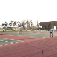 Photo taken at UB Alumni Arena Tennis Courts by Anna Y. on 4/30/2013