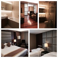 Photo taken at FAIRMONT RESIDENCE[福泰酒店公寓] by josephine k. on 5/6/2015