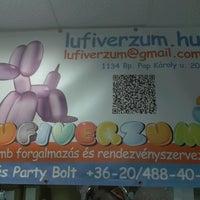 Photo taken at Lufiverzum-Lufi és Party Kellék Bolt by Gergely H. on 5/24/2013