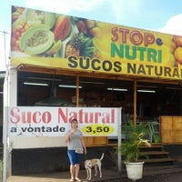 Photo taken at Stop Nutri Sucos Naturais by Hernane C. on 9/19/2013