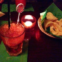 Photo taken at La Bodeguita del Medio by Andrea L. on 3/2/2013