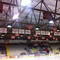 Photo taken at Lynah Rink by Ken S. on 2/22/2013