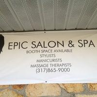 Photo taken at Epic Salon & Spa by Jenny H. on 7/17/2013