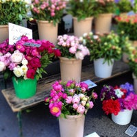 Photo taken at Marché Helvétique (Rive) by Tamar K. on 6/5/2013