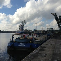 Photo taken at Port Szczecin by Jakub S. on 9/5/2013